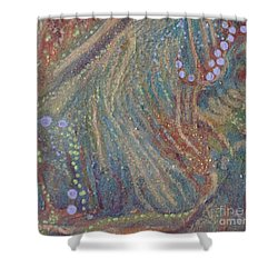 Shower Curtain featuring the painting Sea Collection by Rita Brown