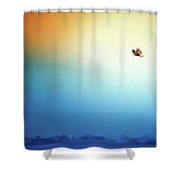 Sea Eagle On High Shower Curtain