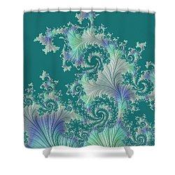 Sea Fan Shower Curtain