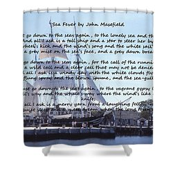 Sea Fever Shower Curtain