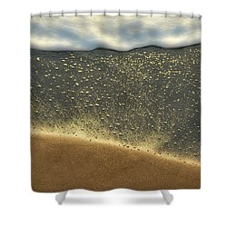 Sea Foam #2 Shower Curtain