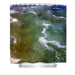 Creative Ocean Photo Shower Curtain