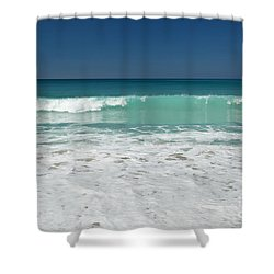 Sea Foam Production Shower Curtain