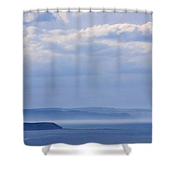 Sea Fret Shower Curtain