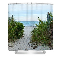 Sea Gate Shower Curtain