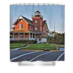 Sea Girt Light Station Shower Curtain