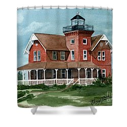 Sea Girt Lighthouse Shower Curtain