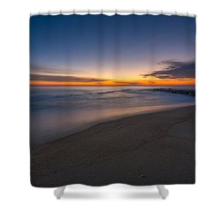 Sea Girt Sunrise New Jersey  Shower Curtain