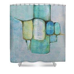 Sea Glass 2 Shower Curtain