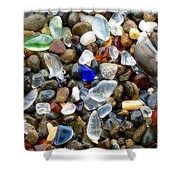 Sea Glass Beauty Shower Curtain