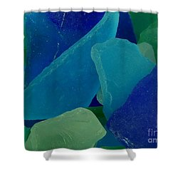 Sea Glass Shower Curtain