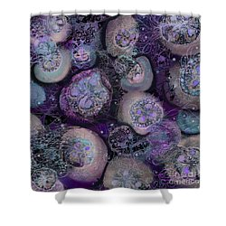 Sea Glow Shower Curtain