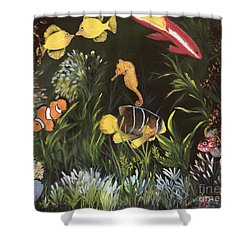 Sea Harmony Shower Curtain