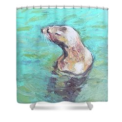 Sea Lion Shower Curtain