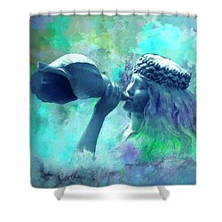 Sea Nymph Shower Curtain