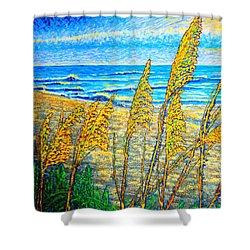 Sea Oat,dual #1 Shower Curtain