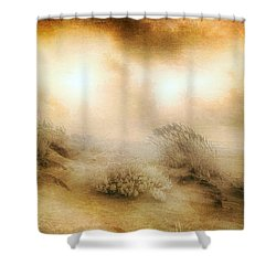 Sea Oats In Paradise Shower Curtain