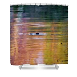 Shower Curtain featuring the photograph Sea Of Color by Bill Wakeley