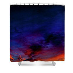 Shower Curtain featuring the photograph Sea Of Colors by Eric Christopher Jackson