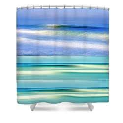 Sea Of Dreams Collage Shower Curtain