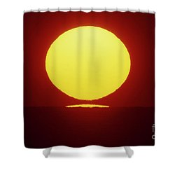 Sea Of Japan Shower Curtain by Tatsuya Atarashi