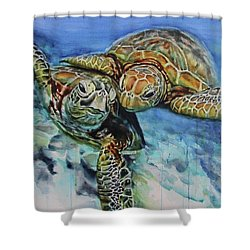 Sea Of Love Shower Curtain