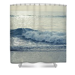 Sea Of Possibilities Shower Curtain by Laura Fasulo