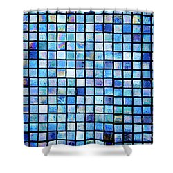 Sea Of Tiles Shower Curtain by Brandon Tabiolo - Printscapes