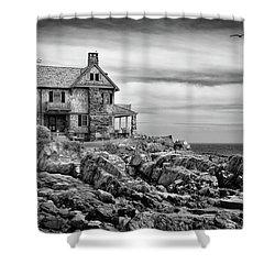 Sea Overlook Shower Curtain