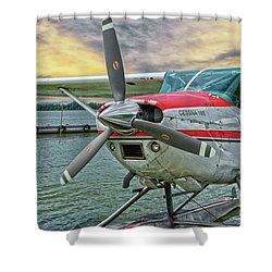 Sea Plane Shower Curtain