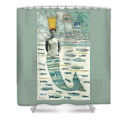 Sea Queen Shower Curtain