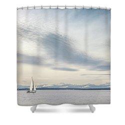 Sea Scene Shower Curtain