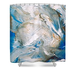Sea Shells Shower Curtain by M Diane Bonaparte
