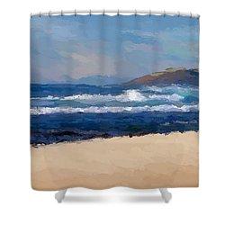 Sea Shore Shower Curtain
