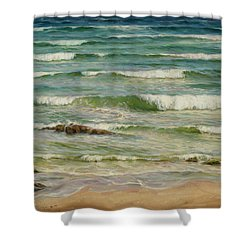 Sea Symphony. Part 1. Shower Curtain