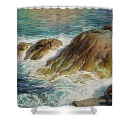 Sea Symphony. Part 2. Shower Curtain