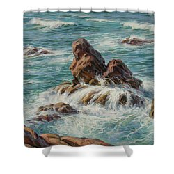 Sea Symphony. Part 3. Shower Curtain