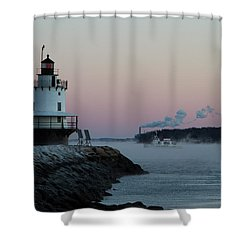 Sea Smoke Shower Curtain