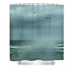 Sea Spray Shower Curtain