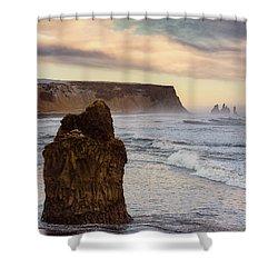 Sea Stack II Shower Curtain by Allen Biedrzycki