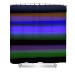 Sea Stripes Shower Curtain