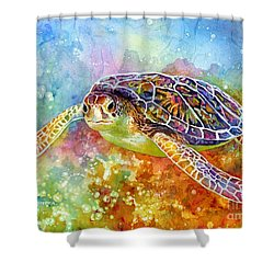 Sea Turtle 3 Shower Curtain