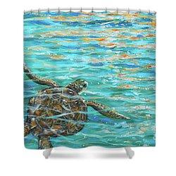 Sea Turtle Dream Shower Curtain