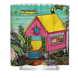 Sea Turtle Rescue Center Shower Curtain