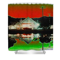 Seabeck General Store Shower Curtain by Tim Allen