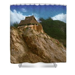 Seacliff House Shower Curtain