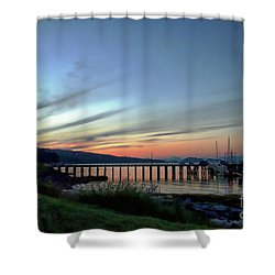Seagate Pier Shower Curtain