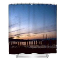 Seagate Pier II Shower Curtain