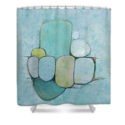 Seaglass 1 Shower Curtain