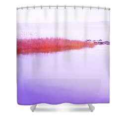 Seagrass Sandbar Shower Curtain